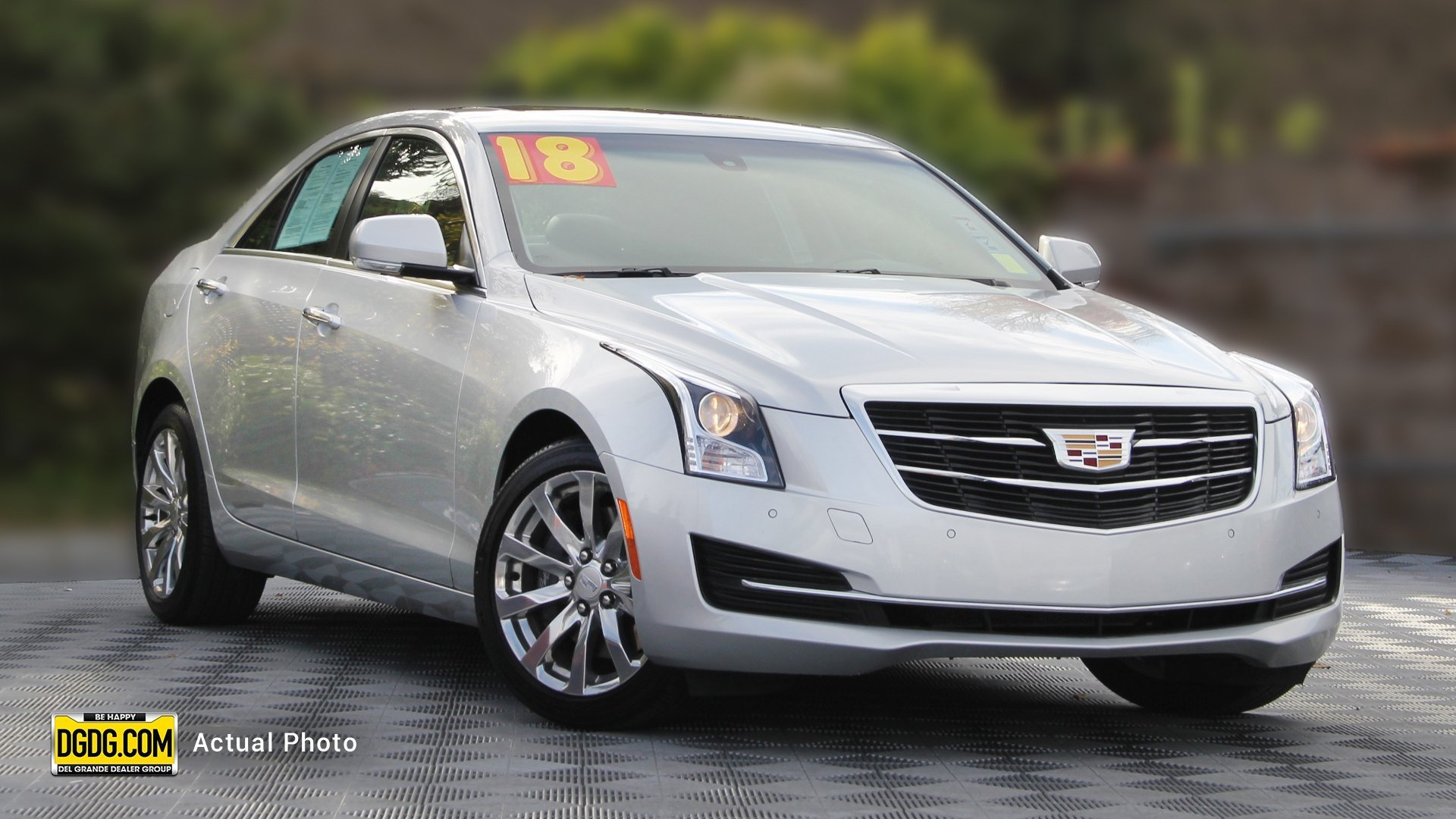 Pre-Owned 2018 Cadillac ATS Sedan Luxury RWD