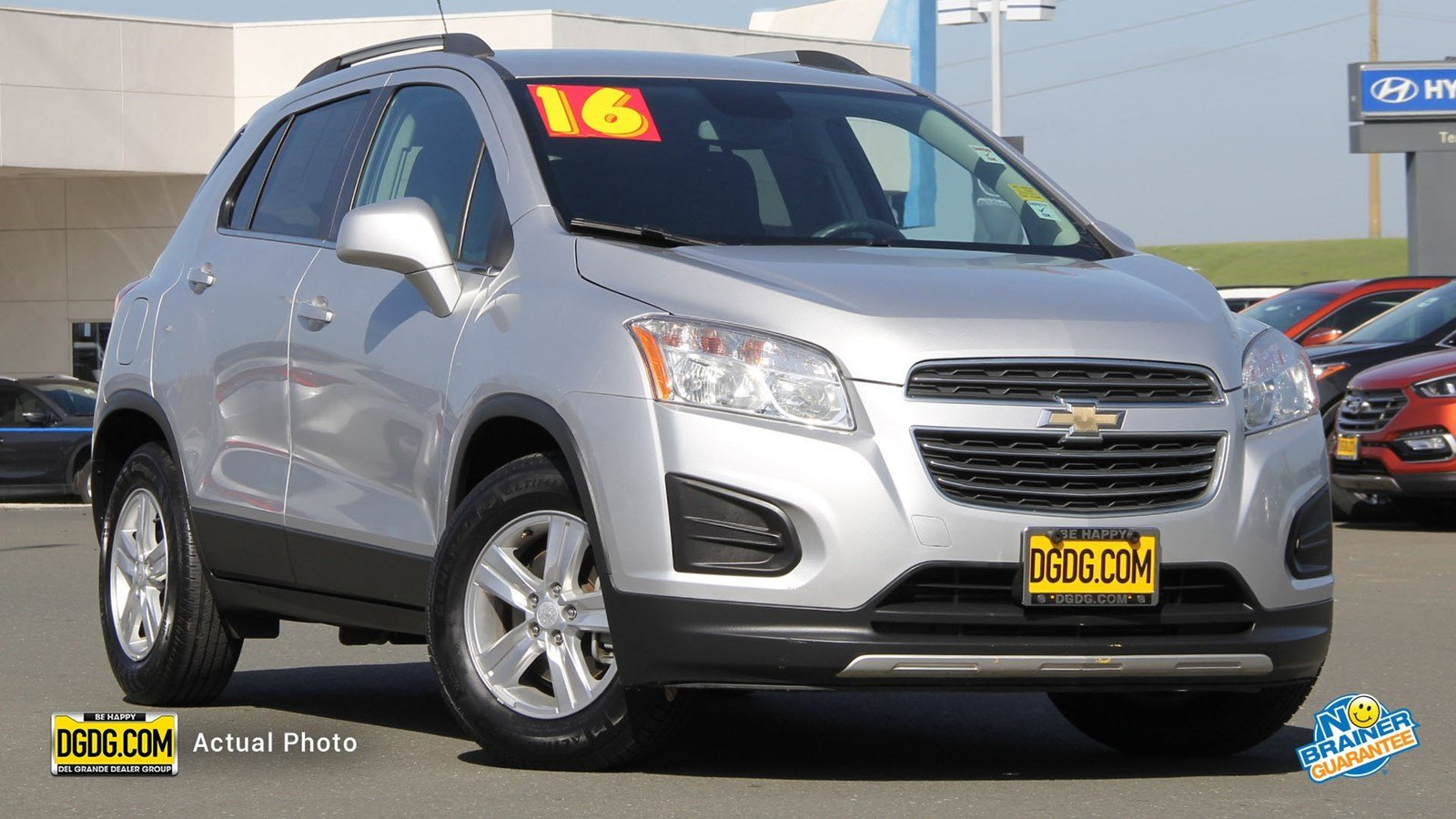 Pre-Owned 2016 Chevrolet Trax LT Sport Utility in Vallejo #UPR10982X
