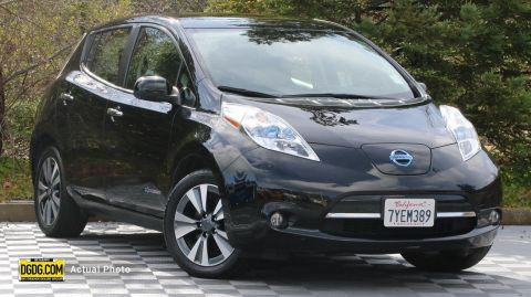 2017 Nissan LEAF SL With Navigation