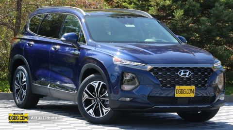 2020 Hyundai Santa Fe Limited With Navigation