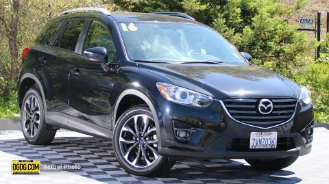 2016 Mazda CX-5 Grand Touring With Navigation