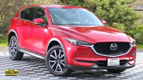 2017 Mazda CX-5 Grand Touring With Navigation & AWD