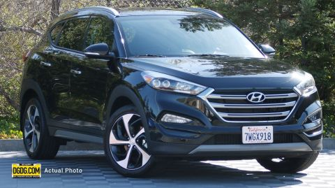 2017 Hyundai Tucson Limited With Navigation